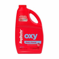 Rug Doctor Oxy Deep Cleaner Solution for Rental Cleaners, Non-Toxic Deodorizing Formula with Oxygen Power to Lift Stains and Spots, 48 oz.