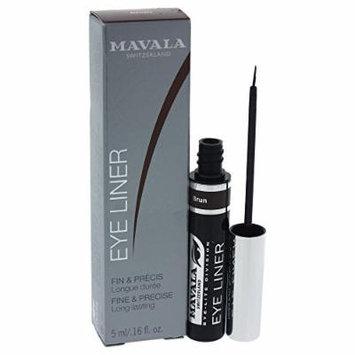 Mavala Eye Liner Liquid Eyeliner, Brun, 0.16 Ounce