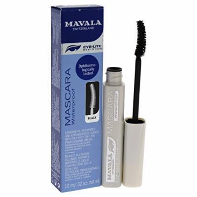 Mavala Mascara Waterproof, Black, 0.32 Ounce