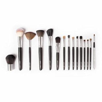 Vanity Planet Palette 15 Piece Professional Makeup Brush Set, Black