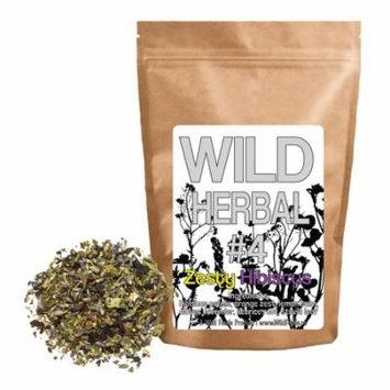Wild Herbal #4 - Zesty Hibiscus Tea Blend by Wild Foods - 4oz