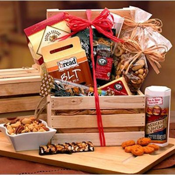 Gourmet Holiday Dip and Snacks Crate