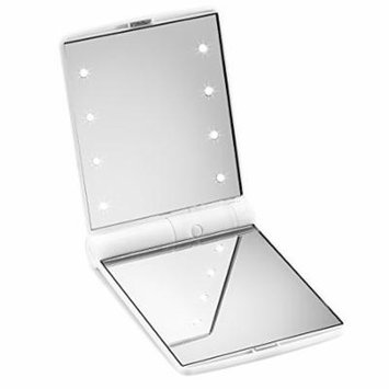 Beautify Beautify Travel Lighted Makeup Mirror (White)