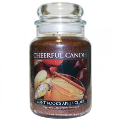 A Cheerful Candle CC16 AUNT KOOKS APPLE CIDER 24OZ - Pack of 2