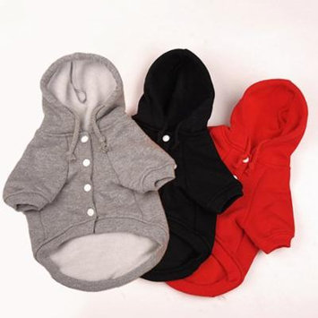 Girl12Queen Puppy Dog Cute Winter Warm Hooded Sweatshirt Hoodie Pet Apparel Dog Clothes