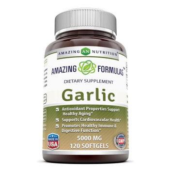 Amazing Nutrition Garlic 5000 Mg 120 Softgels?