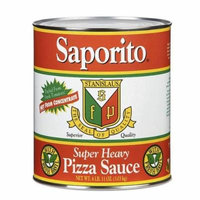 Saporito Pizza Sauce #10, Pack of 6