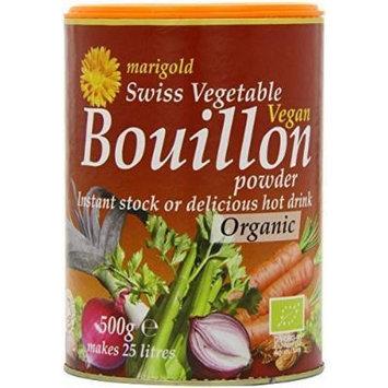 Marigold - Organic Swiss Vegetable Vegan Bouillon Powder - 500g (3 Pack)