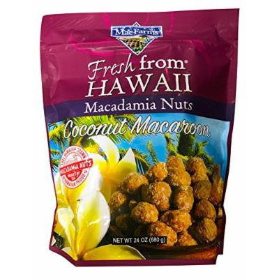 MacFarms Hawaiian Coconut Macaroon Macadamia Nuts