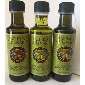 All Natural Avocado Oil, Roasted Garlic Avocado Oil, Provencal Herb Avocado Oil