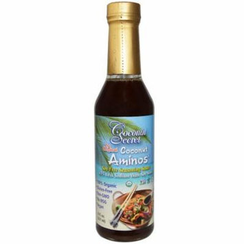 Coconut Secret, The Original Coconut Aminos, Soy-Free Seasoning Sauce, 8 fl oz (pack of 3)