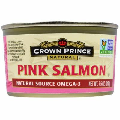 Crown Prince Natural, Pink Salmon, 7.5 oz (pack of 6)