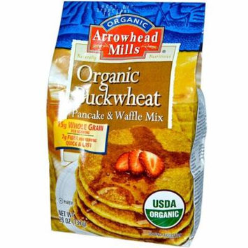 Arrowhead Mills, Organic Buckwheat Pancake and Waffle Mix, 26 oz (pack of 1)
