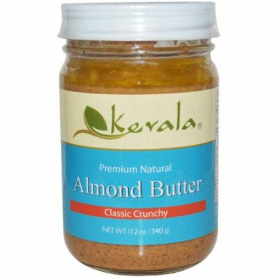 Kevala, Almond Butter, Classic Crunchy, 12 oz (pack of 2)