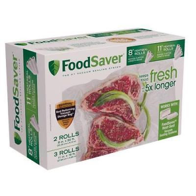 FoodSaver Vacuum Heat Roll Bag 5 Pack