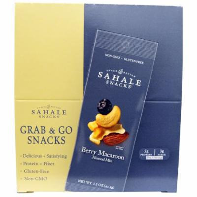 Sahale Snacks, Berry Macaroon Almond Mix, 9 Packs, 1.5 oz (42.5 g) Each(pack of 3)