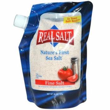 Real Salt, Ancient Fine Sea Salt, 26 oz (pack of 6)