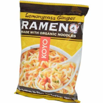 Koyo Natural Foods, Lemongrass Ginger Ramen, 2.1 oz (pack of 1)
