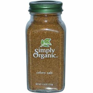 Simply Organic, Celery Salt, 5.54 oz (pack of 12)