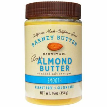 Barney Butter, Bare Almond Butter, Smooth, 16 oz (pack of 1)