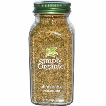 Simply Organic, All-Purpose Seasoning, 2.08 oz(pack of 4)
