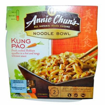 Annie Chun's, Noodle Bowl, Kung Pao, Medium, 9.1 oz (pack of 4)