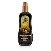 Australian Gold Spray Gel Sunscreen Broad Spectrum SPF 30 with Instant Bronzer - 237ml/8oz