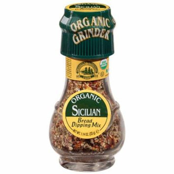 Drogheria & Alimentari, Organic Sicilian Seasoning, Bread Dipping Mix, 1.17 oz(pack of 3)