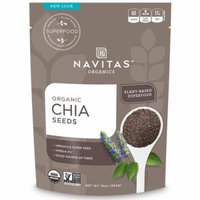Navitas Organics, Organic Chia Seeds, 16 oz (pack of 6)