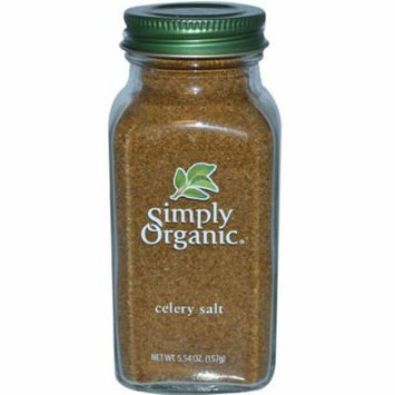 Simply Organic, Celery Salt, 5.54 oz (pack of 3)
