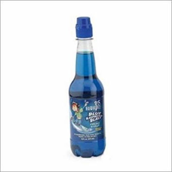 Slushie Express Syrups- Blue Raspberry Flavor (16 oz)