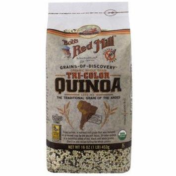 Bob's Red Mill, Organic Whole Grain Tri-Color Quinoa, 16 oz (pack of 1)