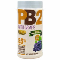 Bell Plantation, PB2, Powdered Peanut Butter with Grape, 6.5 oz (pack of 12)