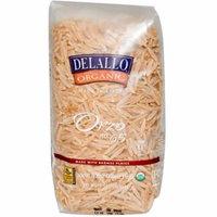 DeLallo, Orzo No. 65, 100% Organic Whole Wheat Pasta, 16 oz (pack of 1)