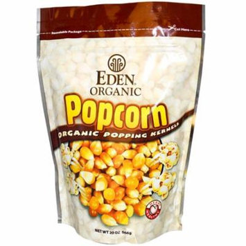 Eden Foods, Popcorn, Organic Popping Kernels, 20 oz (pack of 6)