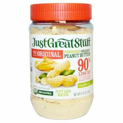 Betty Lou's, Just Great Stuff, Powdered Organic Peanut Butter, The Original, 6.35 oz (pack of 6)