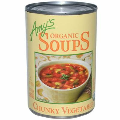 Amy's, Organic Soups, Chunky Vegetable, 14.3 oz (pack of 4)