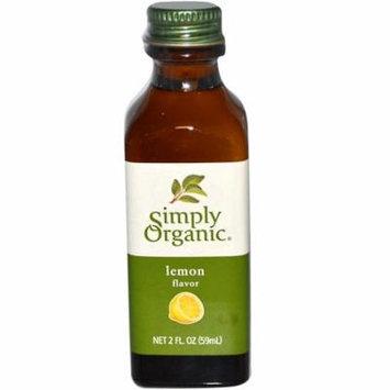 Simply Organic, Lemon Flavor, 2 fl oz (pack of 6)