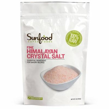 Sunfood, Fine Himalayan Crystal Salt, 1 lb (pack of 4)