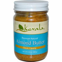Kevala, Almond Butter, Classic Creamy, 12 oz (pack of 6)
