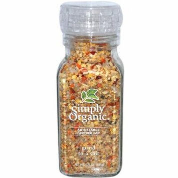 Simply Organic, Grind to a Salt Blend, 4.76 oz (pack of 4)