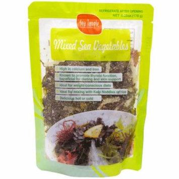 Sea Tangle Noodle Company, Mixed Sea Vegetables, 6 oz(pack of 1)