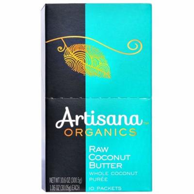 Artisana, Organics, Raw Coconut Butter, 10 Packets, 1.06 oz (30.05 g) Each(pack of 3)