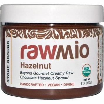 Rawmio, Chocolate Hazelnut Spread, 6 oz (pack of 6)