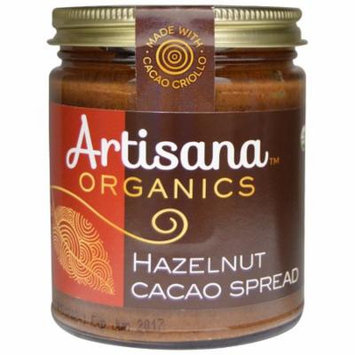 Artisana, Organics, Hazelnut Cacao Spread, 8 oz(pack of 4)