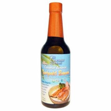 Coconut Secret, Teriyaki Sauce, Coconut Aminos, 10 fl oz (pack of 4)