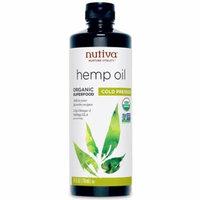 Nutiva, Organic Hemp Oil, Cold Pressed, 24 fl oz (pack of 4)