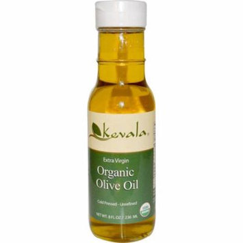 Kevala, Extra Virgin Organic Olive Oil, 8 fl oz (pack of 6)