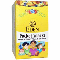 Eden Foods, Pocket Snacks, Quiet Moon, Nuts, Seeds, Dried Fruit, 12 Packages, 1 oz (28.3 g) Each(pack of 6)