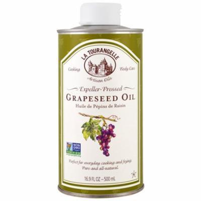 La Tourangelle, Grapeseed Oil, 16.9 fl oz (pack of 4)